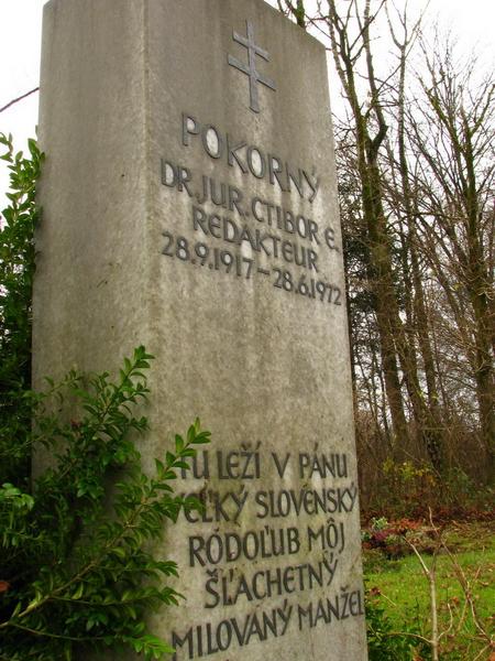 Pomník Ctibora Pokorného